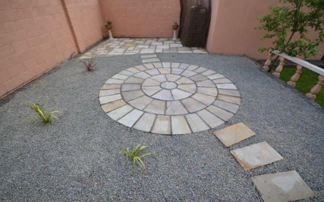 Back garden in Mayfield 3