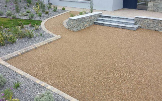 resin bonded driveway